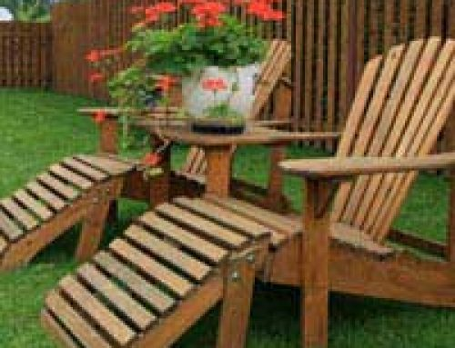 Furniture Choices for Garden Buildings