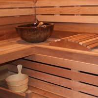 Create an Outdoor Sauna Room