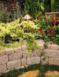 Create Feature Garden Walls