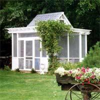 Choosing Windows for a Garden Building