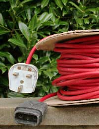 Get an Electricity Supply Outside