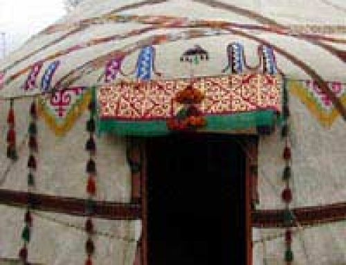 Try a Yurt in Your Garden