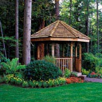 Gazebos and Other Temporary Garden Buildings