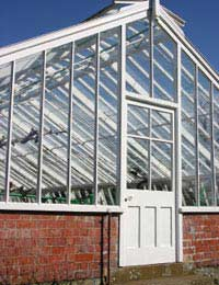 Restoring and Maintaining a Wooden Greenhouse